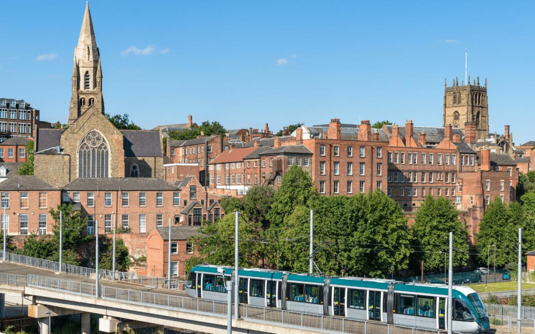Nottingham's Lace Market.